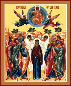 icon: Assention of Our Lord